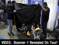 Boomer-1 Revealed On Tour!